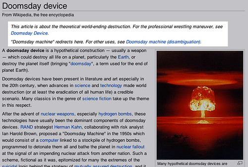 Doomsday Device on Wikipedia