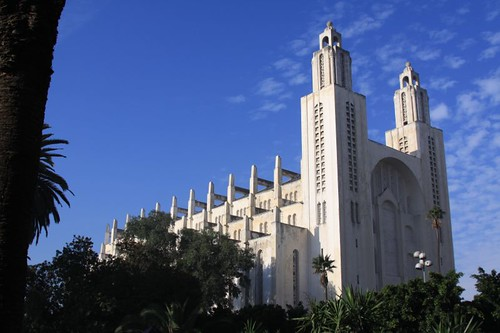 Casablanca Cathedral.