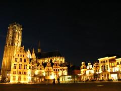 Mechelen city centre (anaadi+) Tags: travel belgium cityscapes mechelen nightscapes flanders