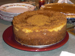 MMMM pumpkin cheesecake