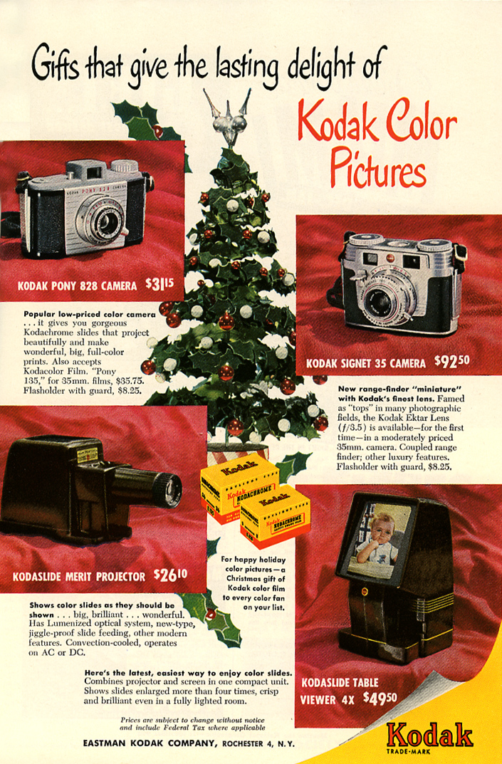 Kodak ad_December 1952_tatteredandlost