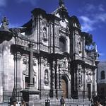 Quito: fachada de la iglesia de la Compañía de Jesús, S. XVII-XVIII