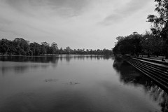 Moat around Angkor Wat