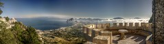 Erice (pbr42) Tags: ocean italy panorama water sicily med hdr erice castellodivenere