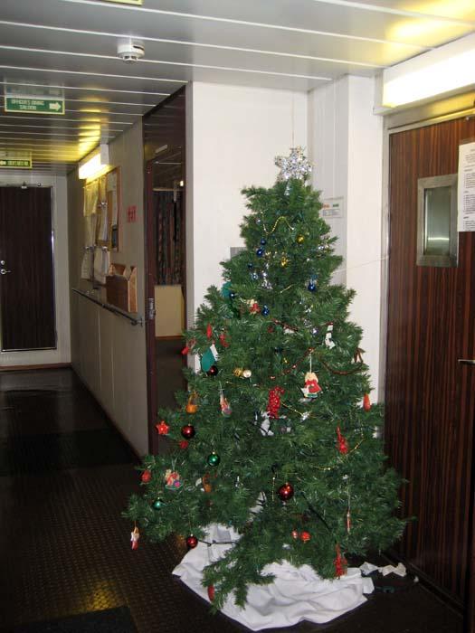 Shipboard XMAS Tree