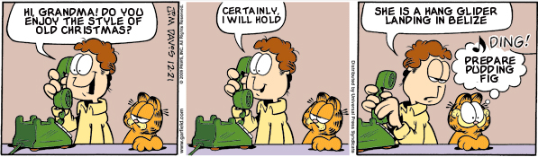 Garfield: Lost in Translation, December 21, 2009