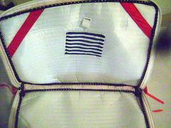 capa note Navy interior (P de Pera) Tags: navy case fabric joaninha tecido netbook capadenotebook pdepera