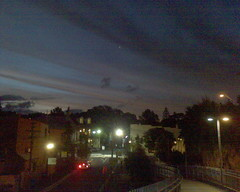 Clouds and sunset over Glebe 2