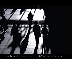 Shadows of Ourselves (tSos Greq) Tags: uk england people silhouette plymouth humans ~2010shadow
