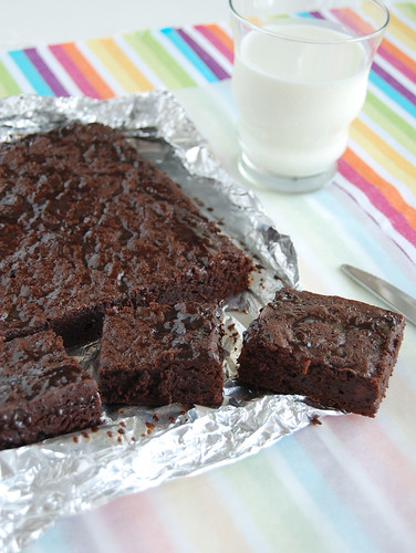 Ovaltine brownies / Brownies de Ovomaltine