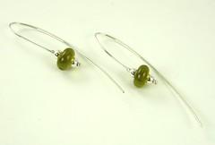 "Recycled Glass Bead Earrings • <a style=""font-size:0.8em;"" href=""https://www.flickr.com/photos/37516896@N05/4362778090/"" target=""_blank"">View on Flickr</a>"