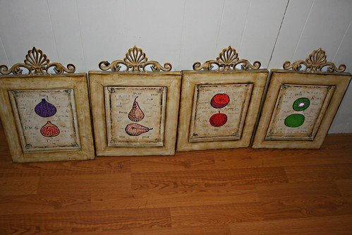 Fruit Theme Wall Hangings by Rick Cheadle Art and Designs