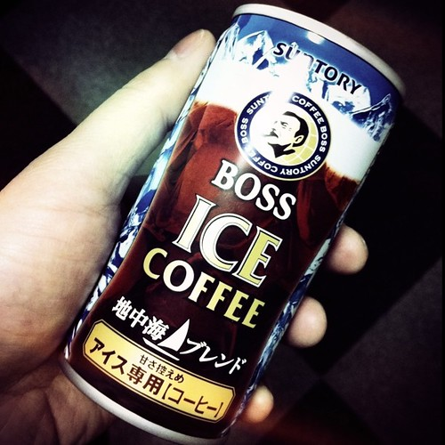家でコーヒー飲めなかったので、珍しく缶コーヒー