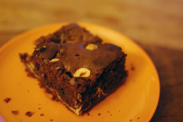 Schoko-Frischkäse-Brownie