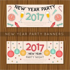 free vector Happy New Year 2017 Party Night Banners (cgvector) Tags: 2017 abstract background ball banners brochure card celebrate celebration christmas color cover creative december decoration decorative design dinner element eve festive flyers geometric graphic greeting greetings grunge happy holiday illustration invitation light merry modern new night party partynightbanners poligonal poster ribbon season sparkle star symbol template type vector wallpaper white winter xmas year