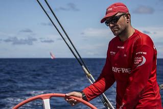 Xabi Fernández, patrón del MAPFRE en la Volvo Ocean Race 2017-18