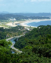 Looking north from Ootakamori (Stop carbon pollution) Tags: japan 日本 honshuu 本州 touhoku 東北 miyagiken 宮城県 matsushima 松島