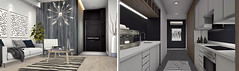 """""""""""The future depends on what you do today..."""" - Interior Setup Lounge/Kitchen - Ultra Modern - Simplistic & Minimal (๑۞๑°zнασι ιηтαgℓισ°๑۞๑) Tags: modern ultra love passion building decor navy pillow aria loft kitchen coffee interior design flooring cupboards apple fall"""