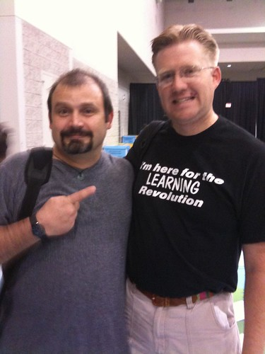 Kevin Honeycutt and Wesley Fryer at NECC 09