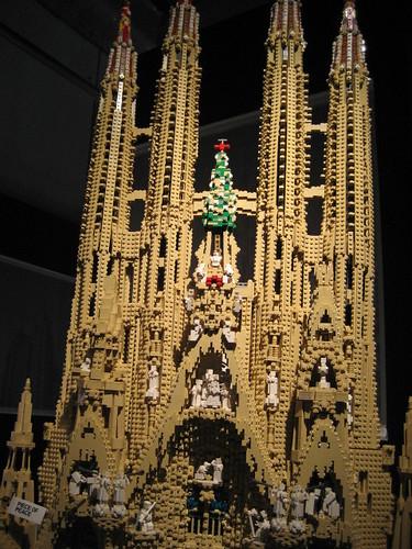 Lego Sagrada Familia