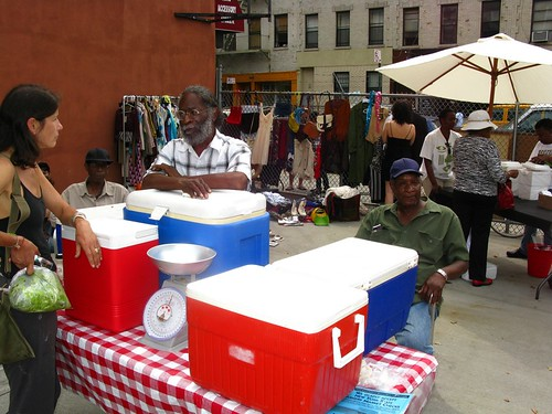 FranklinAv/Sterling Pl Flea Market 7/11-9
