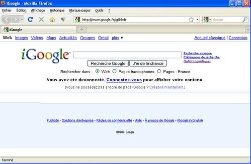 Big Bug on Google Homepage