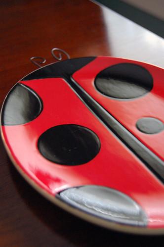 Ladybug Plate