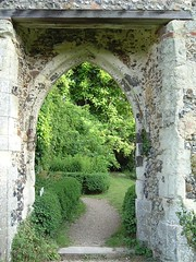 view through an archway (whichwould) Tags: clarepriory