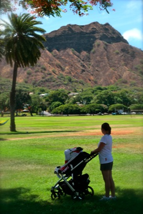 June stroller w Diamondhead