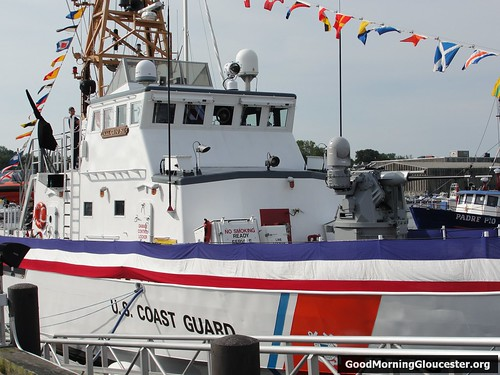 USCG Grand Isle Decked Out For Change Of Command Ceremony