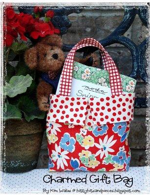 Reusable fabric gift bags, fabric gift wrap, and stylish eco