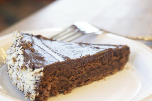 Julia Childs Favorite Chocolate Almond Cake
