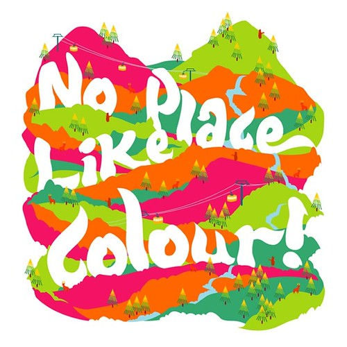 No Place Like Colour by bentheillustrator.