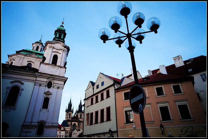 布拉格夜色