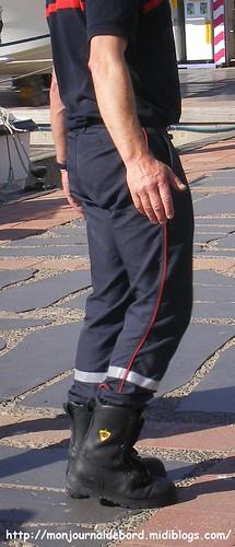 Pompier au Cap d'Agde