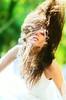 (DFUENTEALBA.com) Tags: portrait woman look fashion hair bride bokeh retrato naturallight movimiento modelo cabello novia lota whitedress nikkor85mmf14 luznatural bridalsession parquedelota sandravega paulabianchi