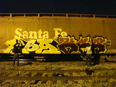 Double Trouble!!! (Kemoe AM K6A) Tags: train graff freights kemo serak k6a kemoe