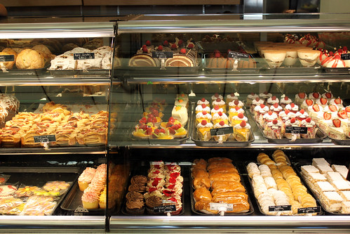 Desserts at Portos