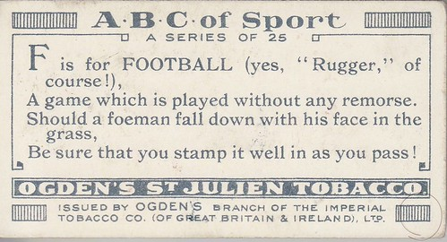 Ogden's ABC of sport 1927 back par vous