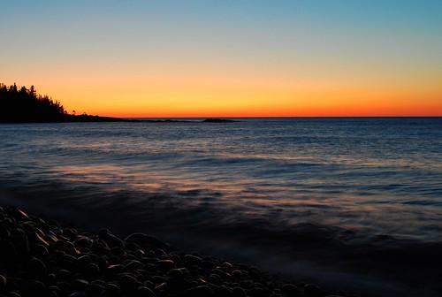 sunrise on the northshore