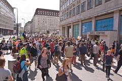 Climate Camp 2009... march and demo against Shell in support of the Rossport campaigners _G108550