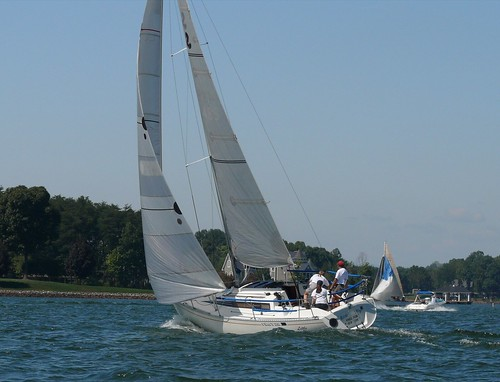 sailboat virginia sailing racing blackwater smithmountainlake sml byra