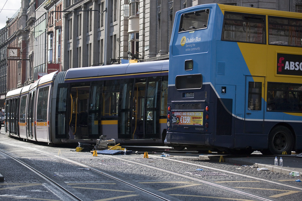 21 People Injured When Luas Crashes Into Bus