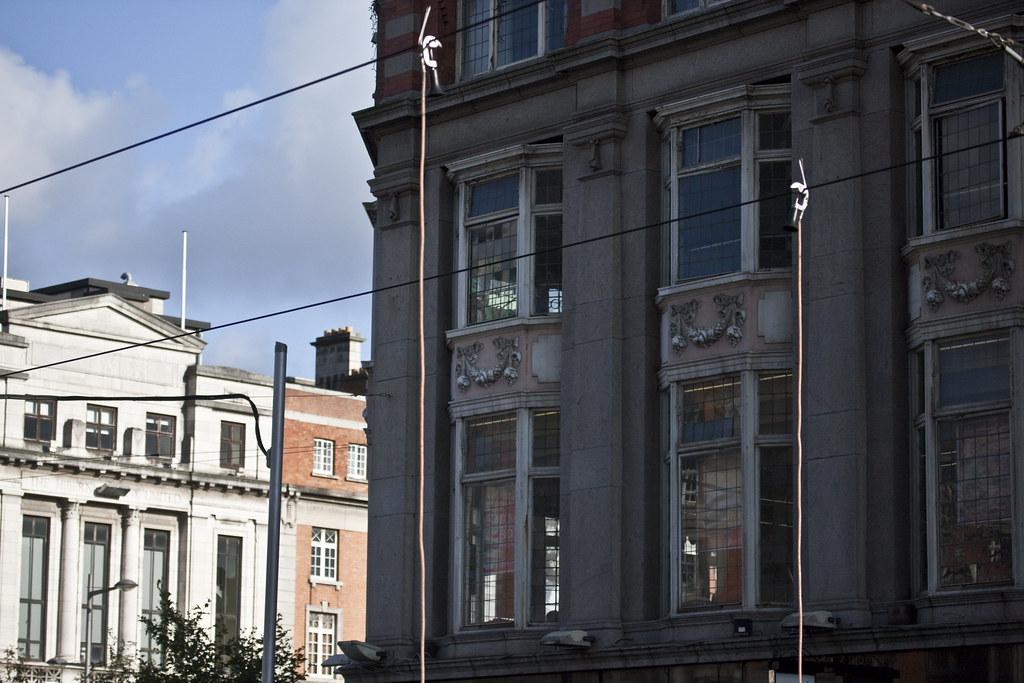 Luas Tram Crashes Into Bus - O'Connell Street Dublin