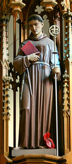 St. Bonaventure (*Jeff*) Tags: red church saint statue catholic bonaventure cardinalshat franciscan