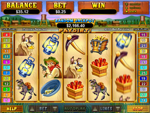 Pay Dirt! slot game online review