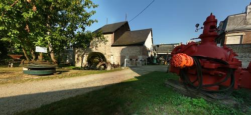 Entrée du Moulin Saint-Gilles
