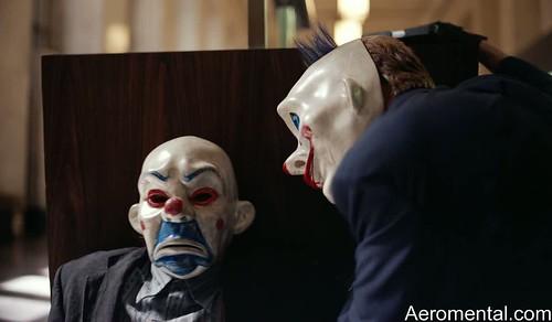 Joker máscara robo del banco TDK