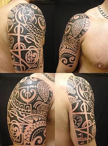 fotos de tatuagem maori