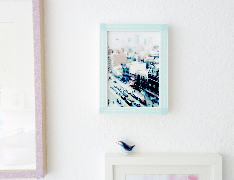 Japanese Tape DIY For Frames